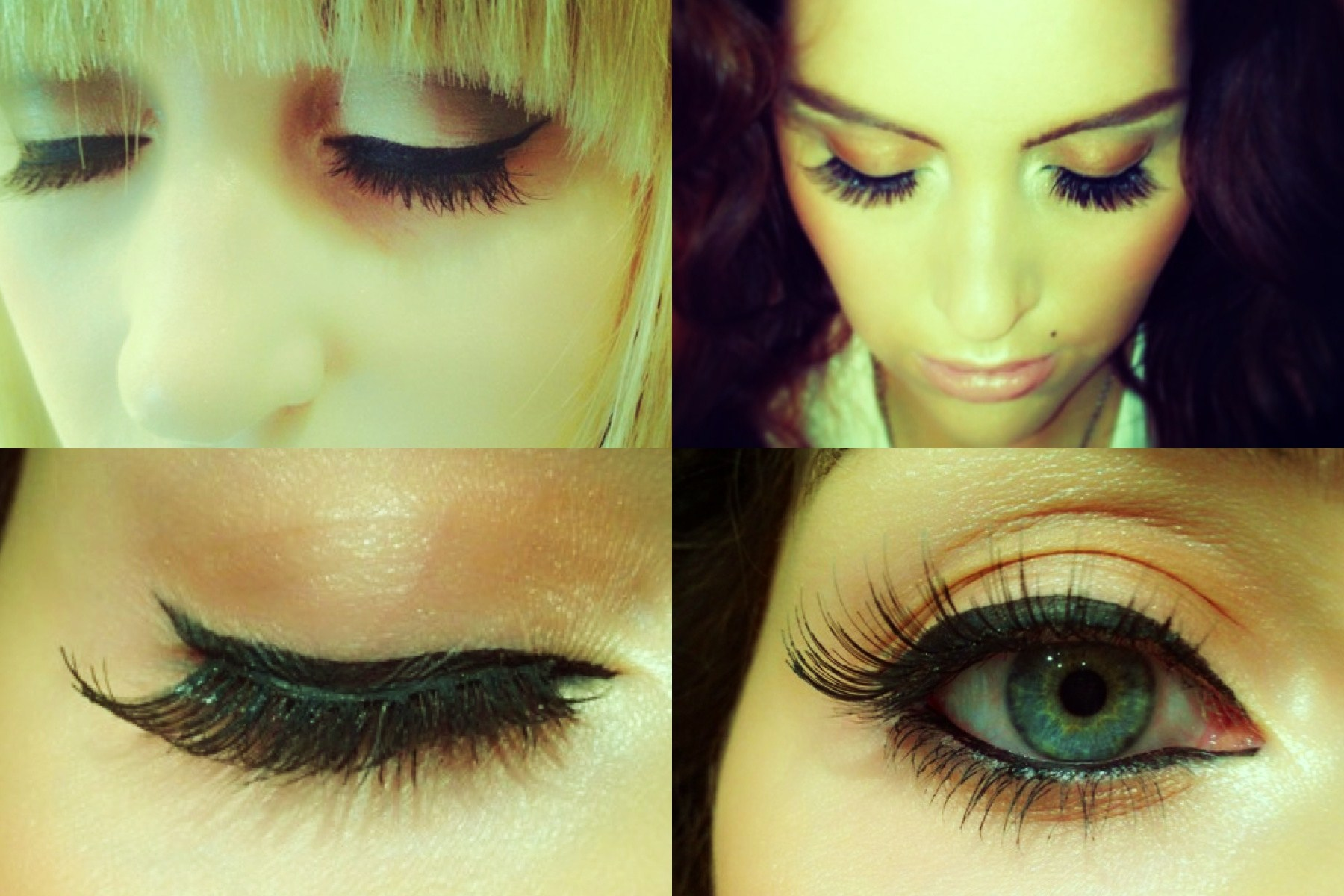 6cf62838c8a These eyelashes are high quality and retail at €9.50. I think they look really  natural and blended well with my own lashes.