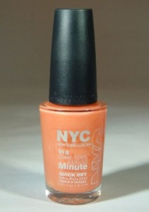 nyc peach sparkle